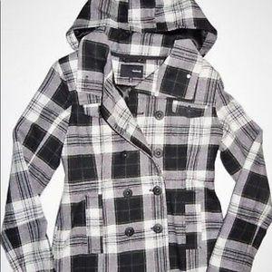 Women's Hurley Pea Coat with hood